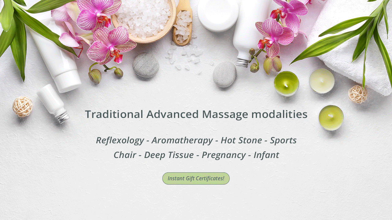 Traditional Advanced Massage modalities
